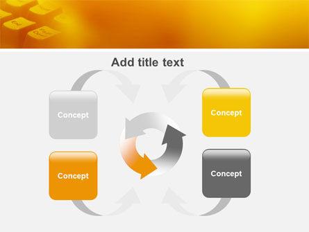 Gray Keyboard PowerPoint Template Slide 6