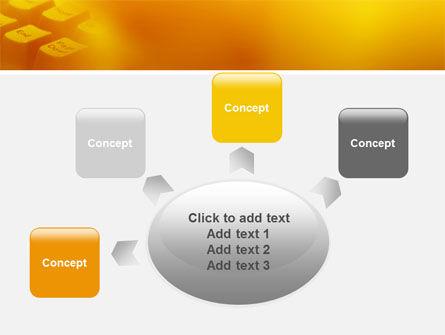 Gray Keyboard PowerPoint Template Slide 7