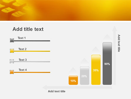 Gray Keyboard PowerPoint Template Slide 8