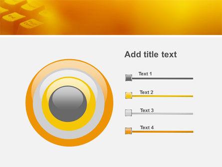 Gray Keyboard PowerPoint Template Slide 9