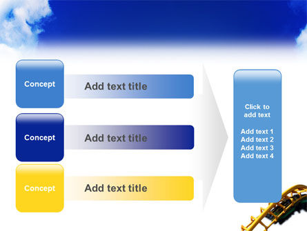 Roller Coaster PowerPoint Template Slide 12