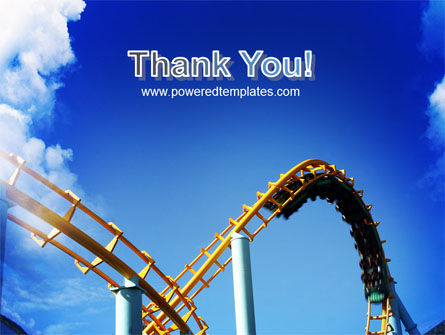 Roller Coaster PowerPoint Template Slide 20