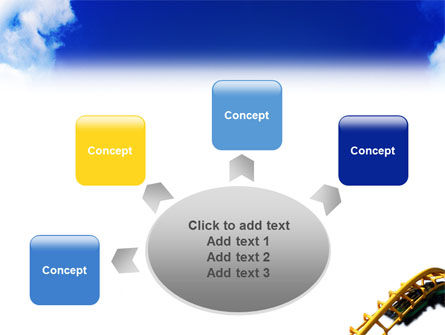 Roller Coaster PowerPoint Template Slide 7