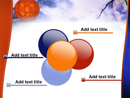 Jack-o-lantern In The Scary Night PowerPoint Template Slide 10