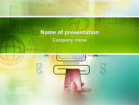 Technology and Science: Online Payment PowerPoint Template #02742
