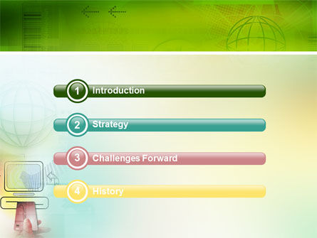 Online Payment PowerPoint Template, Slide 3, 02742, Technology and Science — PoweredTemplate.com