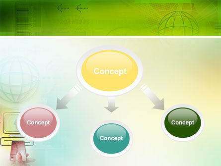 Online Payment PowerPoint Template, Slide 4, 02742, Technology and Science — PoweredTemplate.com