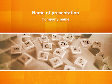 Mind Game PowerPoint Template
