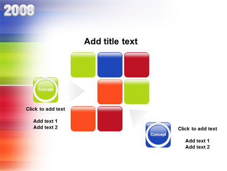NYr 2008 in color  PowerPoint Template Slide 16