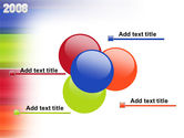 NYr 2008 in color PowerPoint Template#10