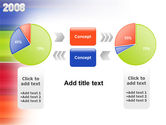 NYr 2008 in color PowerPoint Template#11
