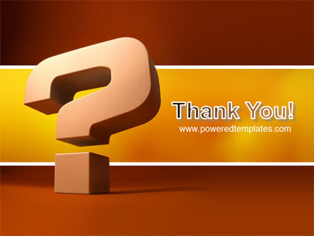 Question Mark In 3D PowerPoint Template Slide 20