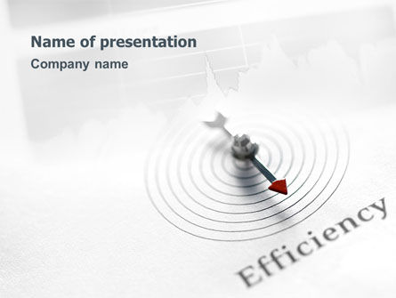 Efficiency PowerPoint Template, 02750, Business Concepts — PoweredTemplate.com