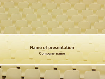 Seats PowerPoint Template, 02751, Business Concepts — PoweredTemplate.com