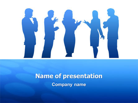 Conversation PowerPoint Template