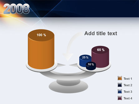 2008 PowerPoint Template Slide 10