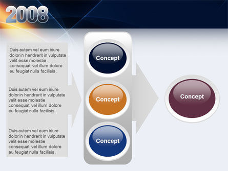 2008 PowerPoint Template Slide 11