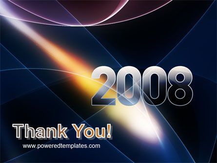 2008 PowerPoint Template Slide 20