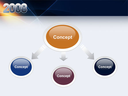 2008 PowerPoint Template Slide 4