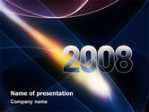 Holiday/Special Occasion: 2008 PowerPoint Template #02759