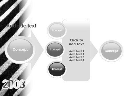 Zebra 2008 PowerPoint Template Slide 17