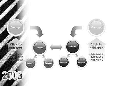 Zebra 2008 PowerPoint Template Slide 19