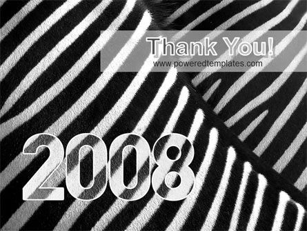 Zebra 2008 PowerPoint Template Slide 20
