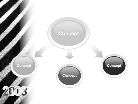 Zebra 2008 PowerPoint Template, Slide 4, 02762, Business Concepts — PoweredTemplate.com