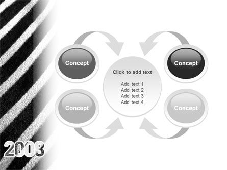 Zebra 2008 PowerPoint Template Slide 6
