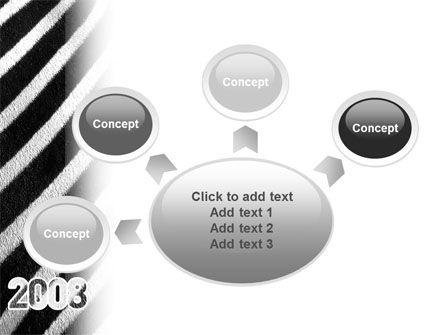 Zebra 2008 PowerPoint Template Slide 7