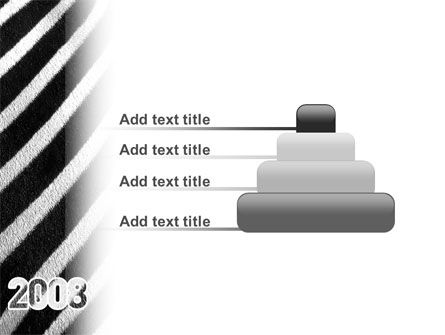 Zebra 2008 PowerPoint Template Slide 8