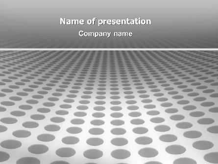 3D: Grate PowerPoint Template #02765