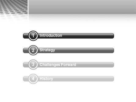 Grate PowerPoint Template, Slide 3, 02765, 3D — PoweredTemplate.com