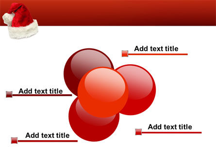 Santa Hat PowerPoint Template Slide 10