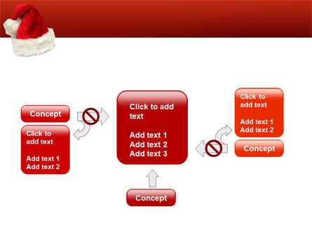 Santa Hat PowerPoint Template Slide 13