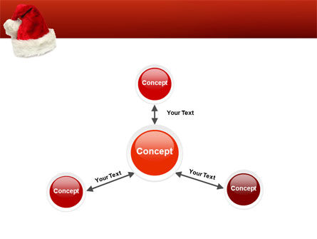 Santa Hat PowerPoint Template Slide 14