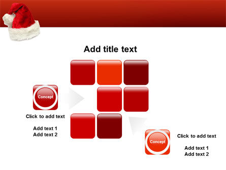 Santa Hat PowerPoint Template Slide 16