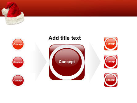 Santa Hat PowerPoint Template Slide 17