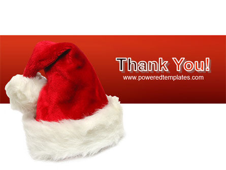 Santa Hat PowerPoint Template Slide 20