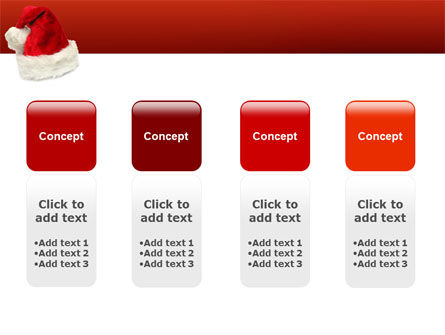 Santa Hat PowerPoint Template Slide 5