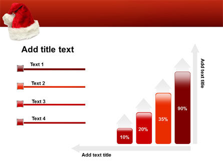 Santa Hat PowerPoint Template Slide 8