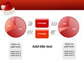 Santa Hat PowerPoint Template#11