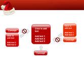 Santa Hat PowerPoint Template#13