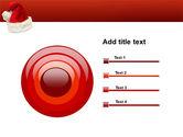 Santa Hat PowerPoint Template#9