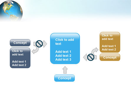 Animated Earth PowerPoint Template Slide 13