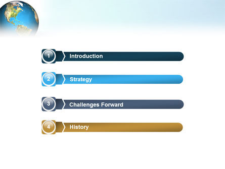 Animated Earth PowerPoint Template, Slide 3, 02767, Global — PoweredTemplate.com