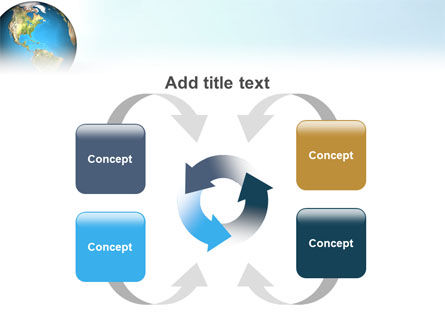 Animated Earth PowerPoint Template Slide 6