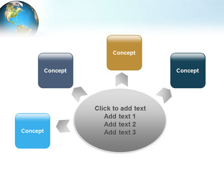 Animated Earth PowerPoint Template Slide 7