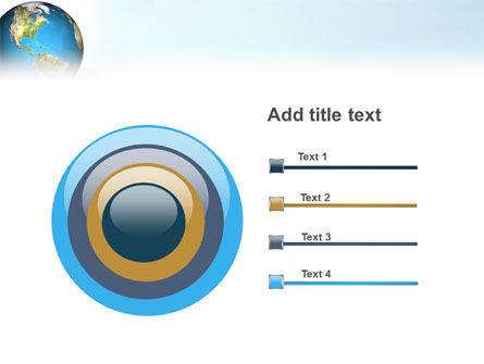 Animated Earth PowerPoint Template Slide 9