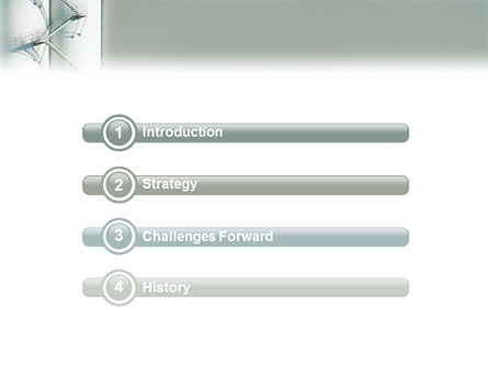 Stairway On The Industrial Column PowerPoint Template, Slide 3, 02768, Utilities/Industrial — PoweredTemplate.com